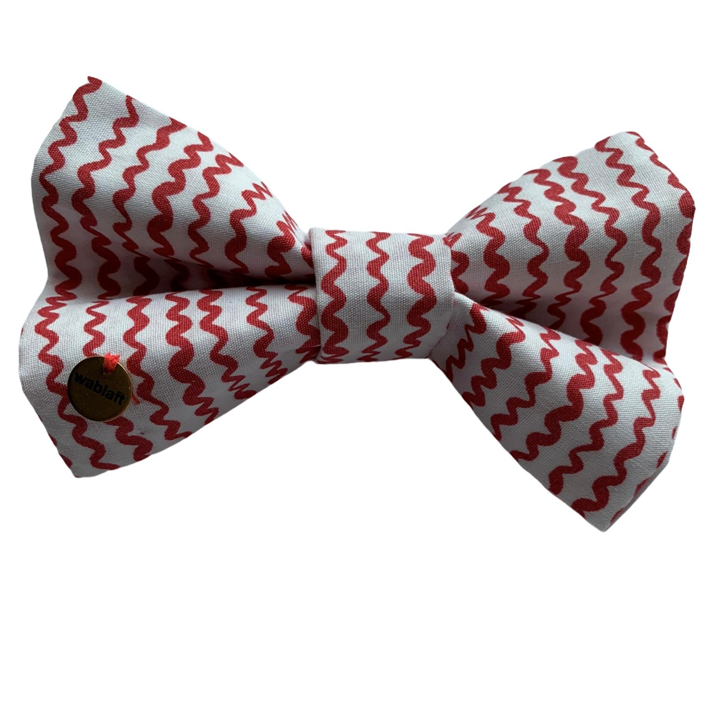 bow tie red stripes