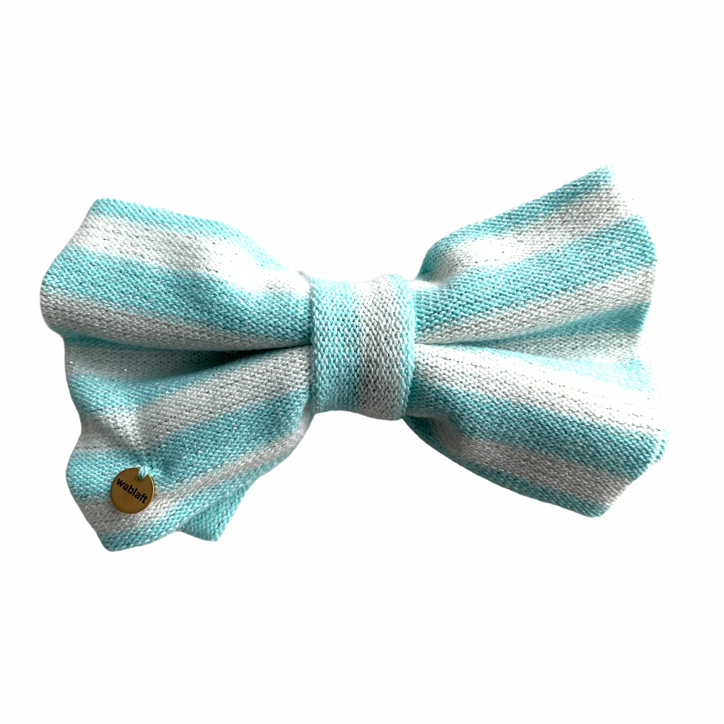 bow tie golddigger turquoise