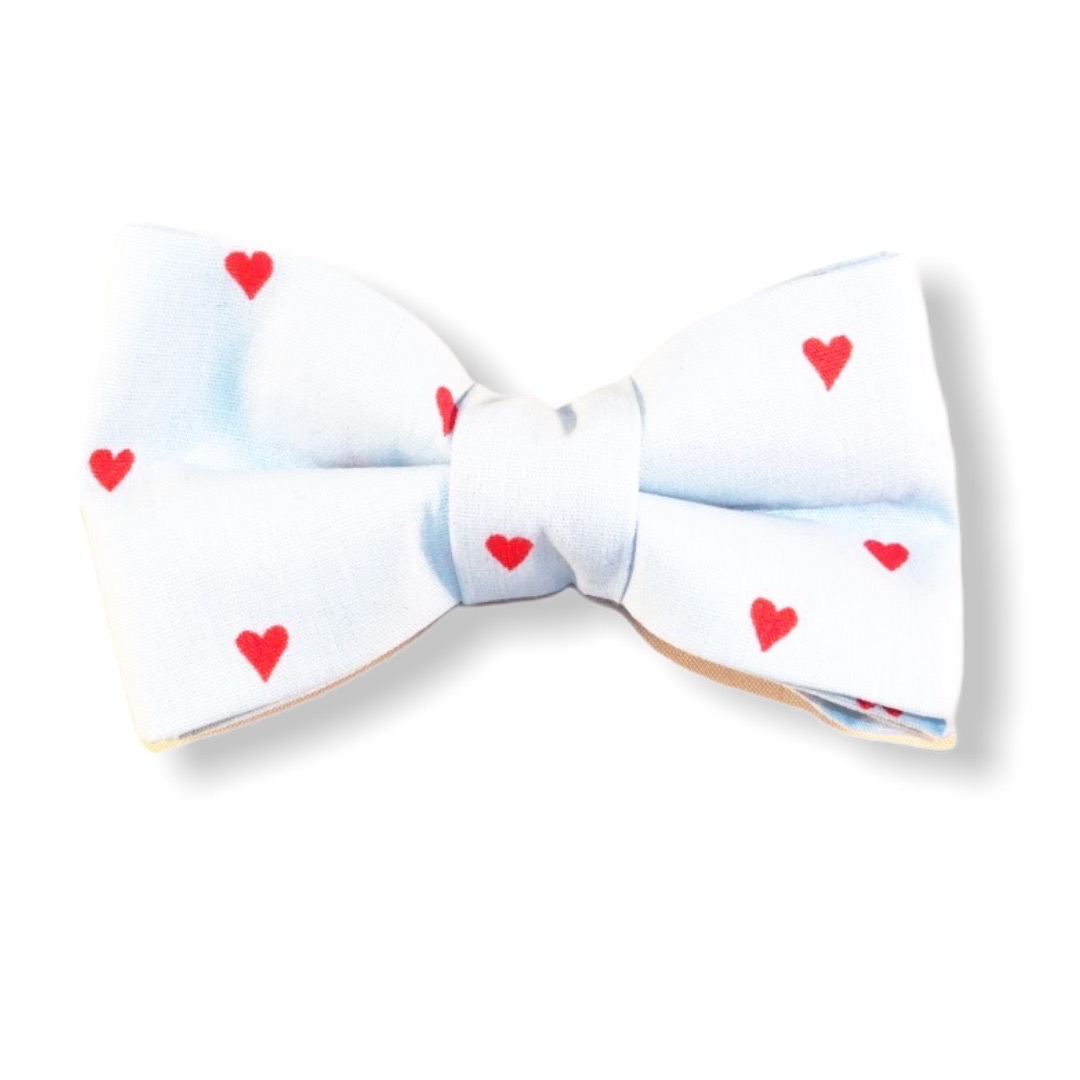 Bow tie you're a sweetheart too (light blue)